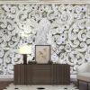 پوستر دیواری گل های گچبری DA-1605