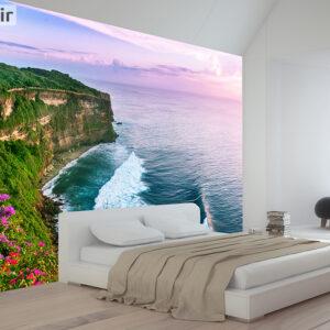 پوستر دیواری صخره و دریا DA-1611