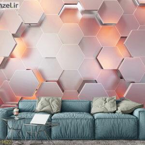 پوستر دیواری طرح هندسی DA-1622