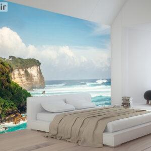 پوستر دیواری صخره و دریا DA-1627