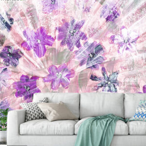 پوستر دیواری گل های فانتزی DA-1634