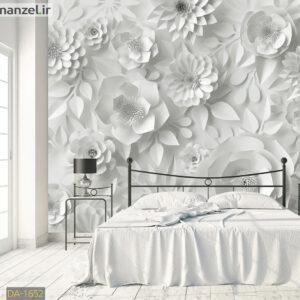 پوستر دیواری گل های کاغذی DA-1652