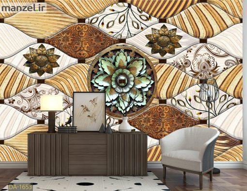پوستر دیواری گل های فانتزی DA-1653