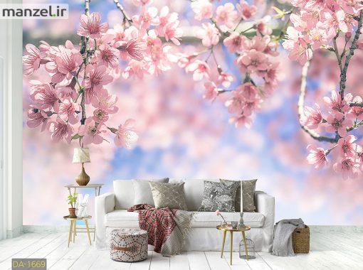 پوستر دیواری شکوفه های بهاری DA-1669