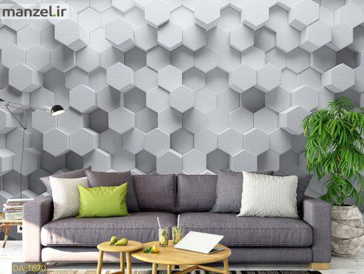 پوستر دیواری طرح هندسی DA-1670