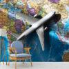 پوستر دیواری نقاشی کشتی و دریا DA-1681