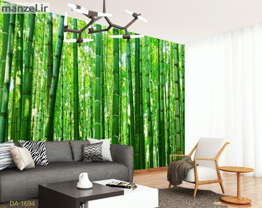 پوستر دیواری درختان بامبو DA-1694