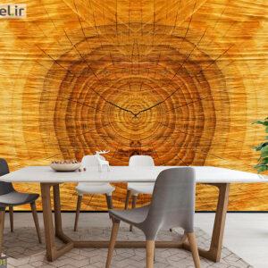 پوستر دیواری تنه چوبی DA-1701