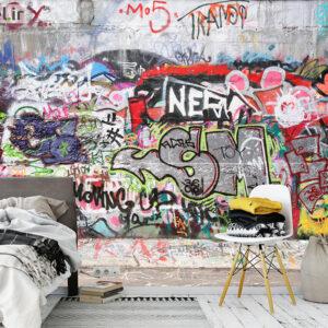 پوستر دیواری گرافیتی DA-1706