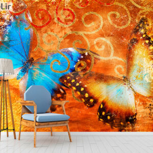 پوستر دیواری پروانه DA-1715
