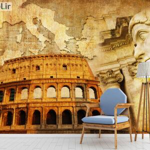 پوستر دیواری رم باستان DA-1718