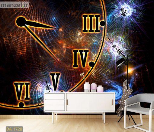پوستر دیواری ساعت DA-1728