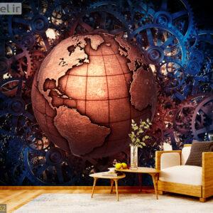 پوستر دیواری نقشه جهان DA-1752