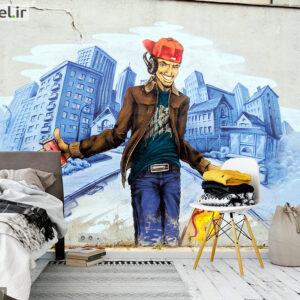 پوستر دیواری گرافیتی DA-1771