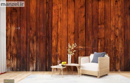 پوستر دیواری طرح چوب DA-1773