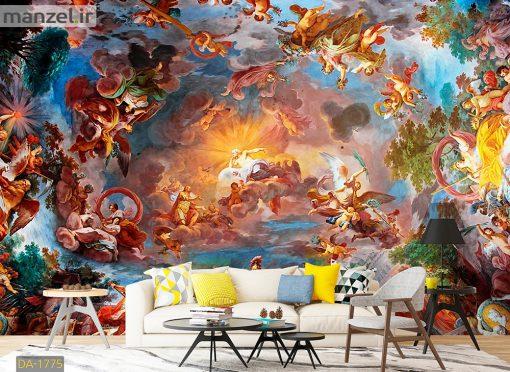 پوستر دیواری نقاشی فرشته DA-1775