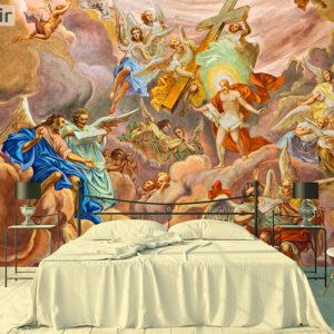 پوستر دیواری نقاشی فرشته DA-1782