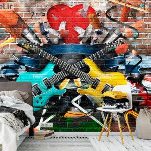 پوستر دیواری گیتار DA-1783