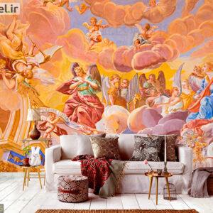 پوستر دیواری نقاشی فرشته DA-1805