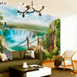 پوستر دیواری آبشار DA-1809