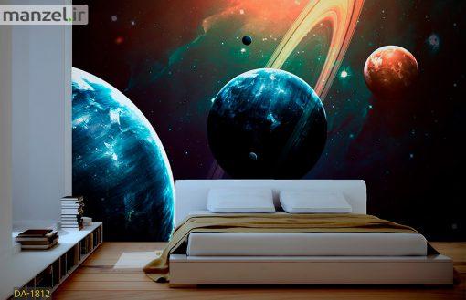 پوستر دیواری کهکشان DA-1812