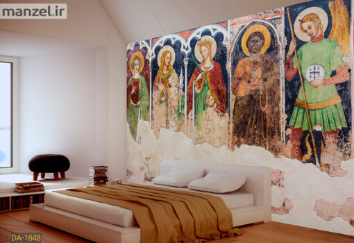 پوستر دیواری نقاشی مسیح DA-1848