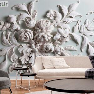 پوستر دیواری گچبری سه بعدی DP-1852