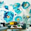 پوستر دیواری گل و پرنده DP-1856
