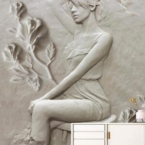 پوستر دیواری گچبری DP-1860