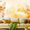 پوستر دیواری گل و جواهر DP-1870