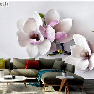 پوستر دیواری شکوفه سه بعدی DA-1875