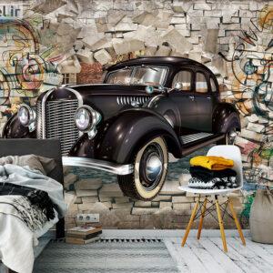 پوستر دیواری ماشین کلاسیک DP-1914