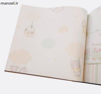 1 1 350x324 - کاغذ دیواری اتاق کودک طرح ابر کد BQ270805