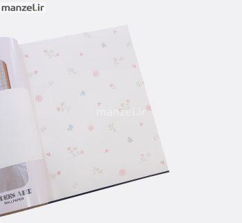 2 bq271001 s1 350x323 - کاغذ دیواری اتاق کودک طرح گل کد BQ271001