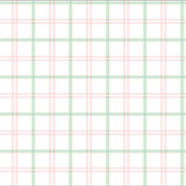 4 BQ271101 600x600 - کاغذ دیواری اتاق کودک طرح چهارخونه کد BQ271101