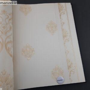 کاغذ دیواری طرح داماسک کد 1805113