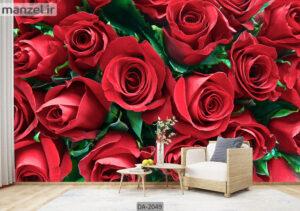 پوستر دیواری طرح گل طبیعی DA-2049