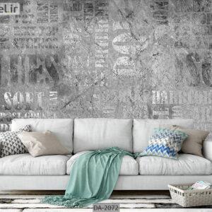 پوستر دیواری طرح حروف انگلیسی DA-2072