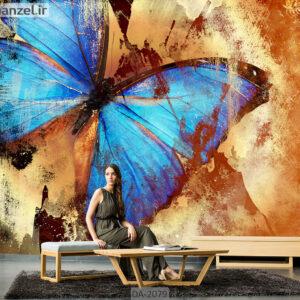 پوستر دیواری طرح پروانه DA-2079