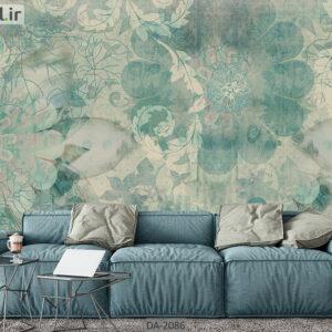 پوستر دیواری طرح گل فانتزی ساده DA-2086
