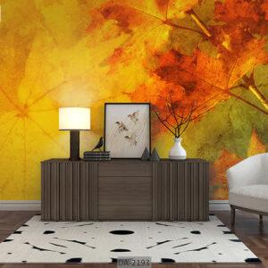 پوستر دیواری طرح برگ پاییزی DA-2193