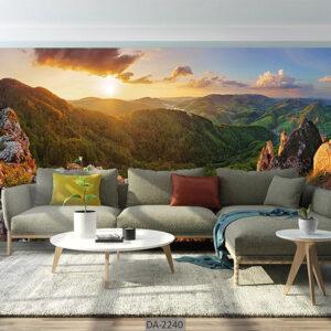 پوستر دیواری طرح طبیعت و منظره DA-2240