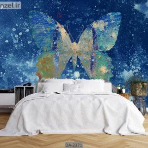 پوستر دیواری طرح پروانه DA-2371