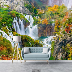 پوستر دیواری طرح آبشار DA-2449