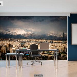 پوستر دیواری طرح شهر تهران DA-2513