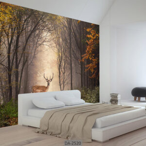 پوستر دیواری طرح جنگل پاییزی DA-2520