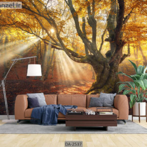 پوستر دیواری طرح جنگل پاییزی DA-2537