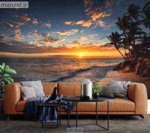 پوستر دیواری طرح ساحل DA-2546