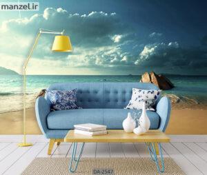پوستر دیواری طرح ساحل DA-2547