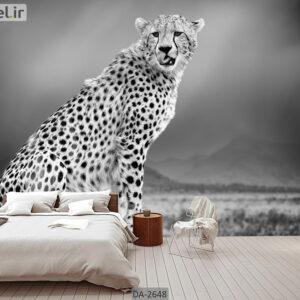پوستر دیواری حیوانات طرح یوزپلنگ DA-2648